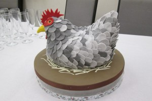 The wonderful Grey Hen birthday cake